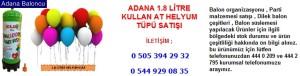 Adana 1.8 litre kullan at helyum tüpü satışı iletişim ; 0 544 929 08 35