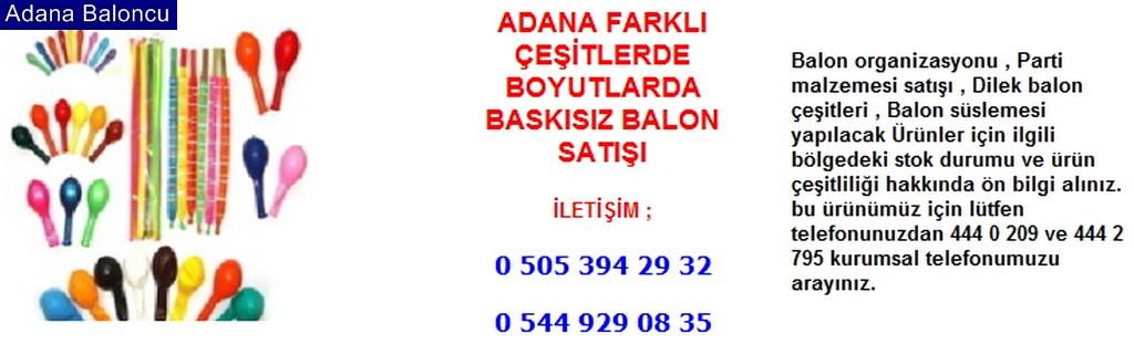 Adana balon satışı iletişim ; 0 544 929 08 35