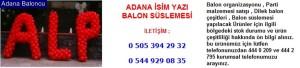 Adana isim yazı balon süslemesi iletişim ; 0 544 929 08 35