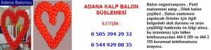 Adana kalp balon süslemesi iletişim ; 0 544 929 08 35
