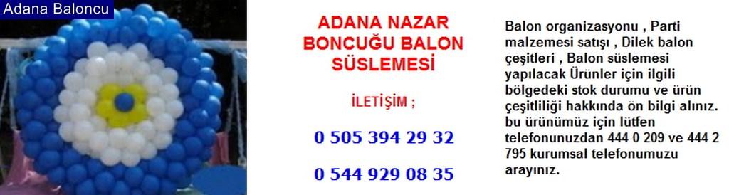 Adana nazar boncuğu balon süslemesi iletişim ; 0 544 929 08 35