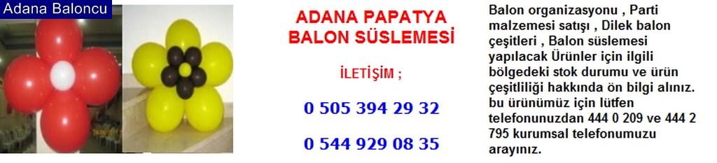 Adana papatya balon süslemesi iletişim ; 0 544 929 08 35