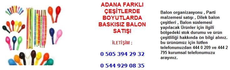 Adana balon satışı