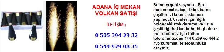Adana iç mekan volkan satışı