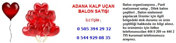 Adana kalp uçan balon satışı