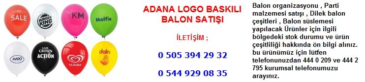 Adana logo baskılı balon satışı