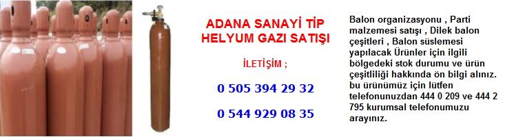 Adana sanayi tip helyum gazı satışı