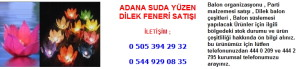 Adana suda yüzen dilek feneri satışı